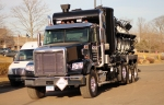2012 Freightliner Coronado SD with Environmental Vacuum